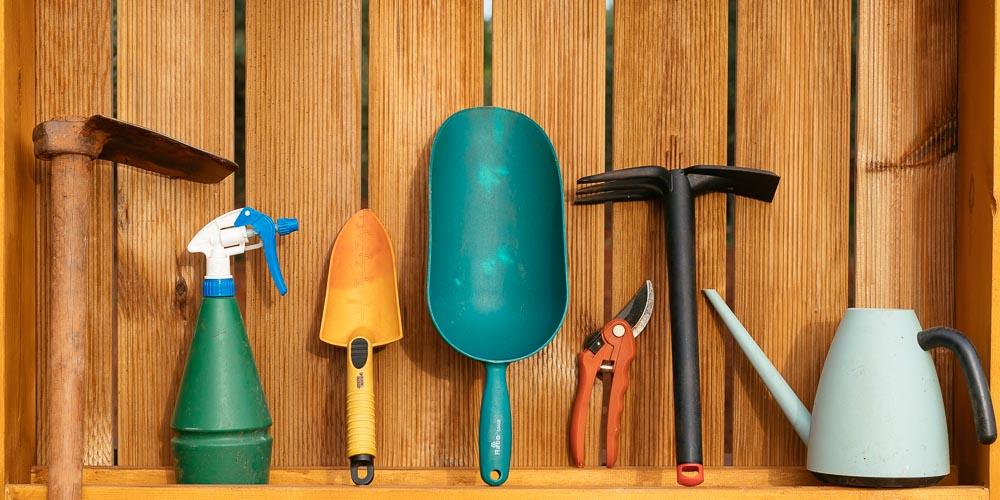 10 χρήσιμα εργαλεία κηπουρικής